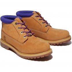 Timebrland Womens Nellie Waterproof Chukka Boots - Wheat Purple - A2JSJ
