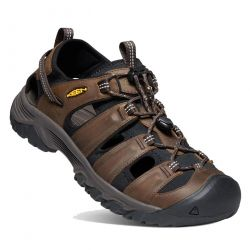 Keen Mens Targhee III Sandal Shoe - Bison Mulch