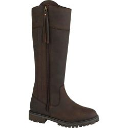 Woodland Womens Bailey Waterproof Country Boot - Brown