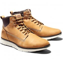 Timberland Mens Killington Chukka Wide Fit Desert Ankle Boots - Wheat - A191I