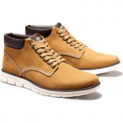 Timberland Mens Bradstreet Chukka Leather Ankle Boots - Wheat - A1989