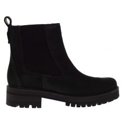 Timberland Womens Courmayeur Valley Chelsea Ankle Boots - Black - A1J66