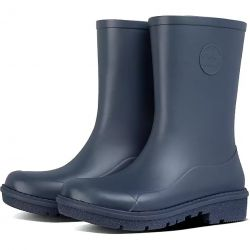 Fitflop Womens Wonderwelly Short Wellington Boots - Midnight Navy