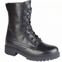 Grafters Mens Leather Assault Boot - Black