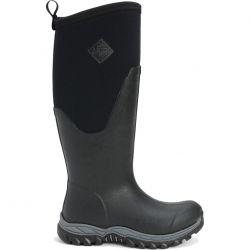 Muck Boots Womens Arctic Sport II Tall Neoprene Wellies Rain Boots - Black