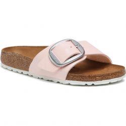 Birkenstock Womens Madrid Big Buckle Regular Fit Sandals - Graceful Light Rose
