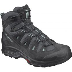 Salomon Womens Quest Prime GTX Waterproof Walking Boots - Ebony Black Icy