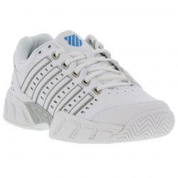 K Swiss Womens Bigshot Light Tennis Trainers Shoes - White Hawaiian Ocean