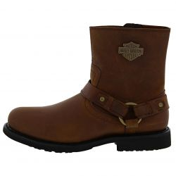 Harley Davidson Mens Scout Boots - Brown