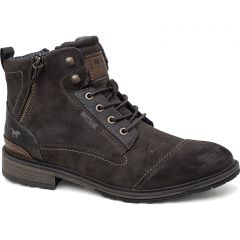 Mustang Mens 4140-504 Ankle Boots - Dark Brown