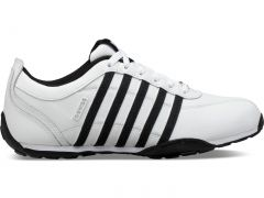 K Swiss Mens Arvee 1.5 Trainers - White Black Silver