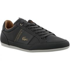 Lacoste Mens Chaymon 321 1 CMA Premium Trainers - Dark Grey
