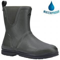 Muck Boots Mens Muck Originals Pull On Mid Wellington Boots - Green