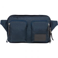 The North Face Kanga Travel Bum Bag - Blue Wing Teal Heather Grey