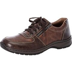 Rieker Mens 03329 Extra Wide Fit Shoes - Toffee Wood