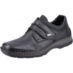 Rieker Mens 05358 Wide Fit Shoes - Black Black