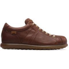 Camper Mens Pelotas Ariel 17408 Shoes - Medium Brown 124