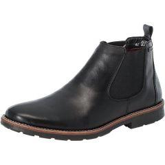 Rieker Mens wide Fit Water Resistant Chelsea Boots - Black