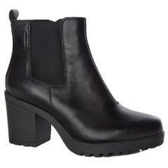 Vagabond Womens Grace Chunky Chelsea Ankle Boots - Black