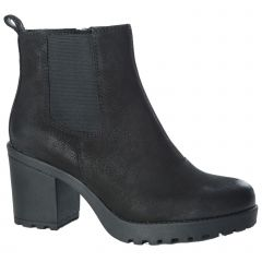 Vagabond Womens Grace Chunky Ankle Boot - Black