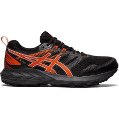 Asics Mens Gel Sonoma 6 GTX Waterproof Trail Running Shoes - Black Marigold Orange