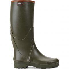 Aigle Mens Chambord Pro 2 Wellington Boots - Kaki