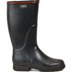 Aigle Mens Womens Tancar Pro ISO WIDE Wellington Boots - Bronze