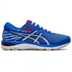 Asics Womens Gel Cumulus 21 Running Shoes - Electric Blue White