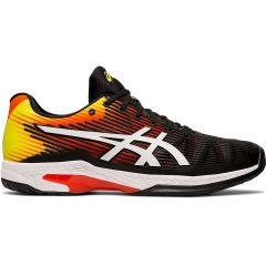 Asics Mens Solution Speed FF Wide Tennis Shoes - Koi White