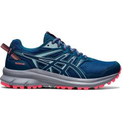 Asics Womens Trail Scout 2 Trail Running Shoes - Deep Sea Piedmont Grey
