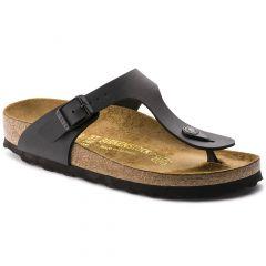 Birkenstock Womens Gizeh Sandals Regular Fit - Black
