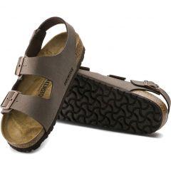Birkenstock Mens Womens Milano Sandals Regular Fit - Mocca