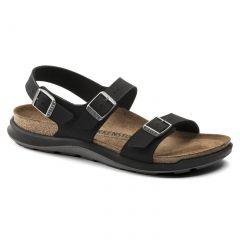 Birkenstock Womens Sonora CT Birko Flor Walking Sandals - Black