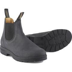 Blundstone Mens 587 Chelsea Boots - Rustic Black