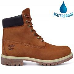 Timberland Mens 6 Inch Premium Classic Waterproof Boots - Rust