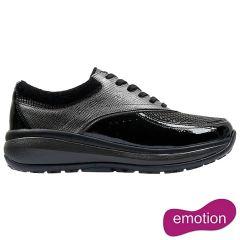 Joya Womens Sydney Shoes - Black Grey