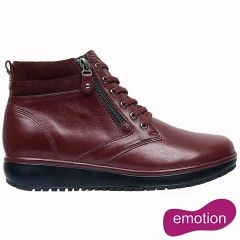Joya Womens Wilma II Ankle Boots - Dark Red