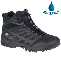 Merrell Mens Moab FST Ice Thermo Waterproof Boots - Black Black