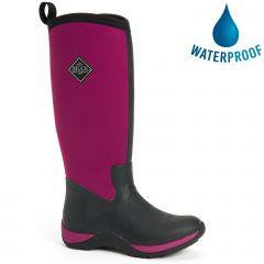 Muck Boots Womens Arctic Adventure Waterproof Boots - Maroon
