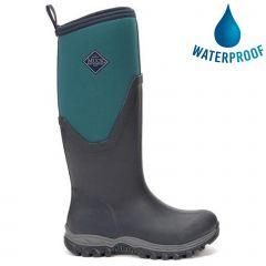 Muck Boots Womens Arctic Sport II Tall Waterproof Boots - Navy Spruce