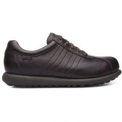 Camper Womens Pelotas Ariel 27205 Leather Shoes - Dark Brown