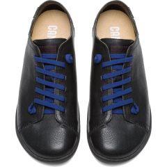 Camper Mens Peu Cami K100249 Leather Shoes - Black 012