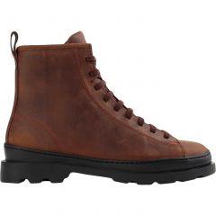 Camper Mens Brutus K300245 Leather Ankle Boots - Brown 009
