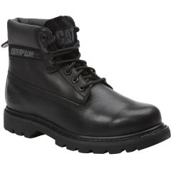Caterpillar Mens Cat Colorado Wide Fit Leather Ankle Boots - Black