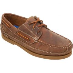 Chatham Mens Rockwell II G2 Wide Fit Shoes - Walnut