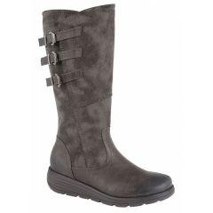 Cipriata Womens Italania Boots - Grey