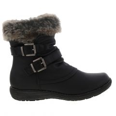 Cipriata Womens Isabella Winter Ankle Boots - Black