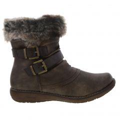 Cipriata Womens Isabella Winter Ankle Boots - Brown