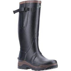 Cotswold Mens Compass Neoprene Wellington Boots - Black
