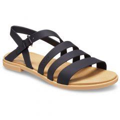 Crocs Womens Tulum Sandal - Black Tan